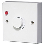 Timer Light Switch, 10 s → 20min, Surface Mount, 2 Way, 1 Gang 240V ac 10A