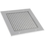 Silver Aluminium Grille, 200 x 200mm