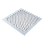 Silver Aluminium Grille, 300 x 300mm