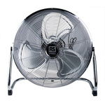 RS PRO Floor Fan 450mm blade diameter 3 speed 230 V ac with plug: BS