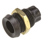 LED Screw In Panel Mount Indicator Bulb Holder, 5 mm Lamp Size, 8 Panel Hole Diameter