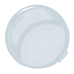 Panel Mount Indicator Lens Round Style, Clear, 16mm diameter