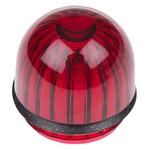 Panel Mount Indicator Lens Domed Style, Red, 15.86mm diameter , 15.86mm Long