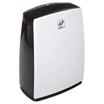 UNELVENT Dehumidifier, 2L water tank, 20L/day extraction rate Type C - European Plug