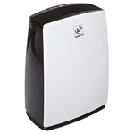 UNELVENT Dehumidifier, 7L water tank, 30L/day extraction rate Type C - European Plug
