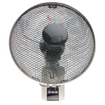 Vent-Axia Wall Fan 300mm blade diameter 3 speed with plug: Type G - British 3-pin
