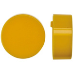 Yellow Push Button Cap, for use with Push Button Switch, Cap