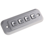 Storm IP65 4 Key Die Cast Zinc Keypad
