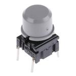 Single Pole Single Throw (SPST) Grey Keyboard Switch, 50 mA @ 24 V dc, -40 → +115°C