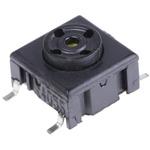 IP67 Single Pole Single Throw (SPST) Black Keyboard Switch, 50 mA @ 24 V dc, -40 → +160°C