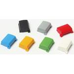 Black Modular Switch Cap, for use with 3A Series Push Button Switch, Cap
