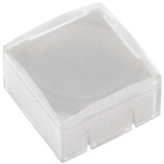 White Push Button Cap, for use with 3F/4F Series (Push Button switch), Cap