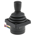 Apem, 2 Way Contactless Joystick Conical, Hall Effect, IP65 Rated, 5V