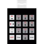 Bopla IP65 16 Key Copper Membrane Keypad