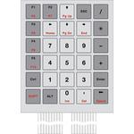 Bopla IP65 30 Key Copper Membrane Keypad