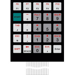 Bopla IP65 25 Key Copper Membrane Keypad