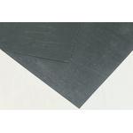 Klinger Nitrile Rubber 750 x 500mm 2mm Thick Black Gasket Sheet, Anti Stick Surface, Maximum of +450°C