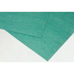 Klinger Nitrile Rubber 750 x 500mm 3mm Thick Green Gasket Sheet, Anti Stick Surface, Maximum of +400°C