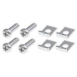 RS PRO Aluminium 11.4mm Long Gear Rack Rail Fixing Kit