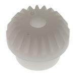 RS PRO POM Bevel Gear, 3mm Bore, 20 Teeth, 0.5 Module