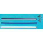 RS PRO Aluminium 1m Long Gear Rack Rail