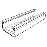Cablofil International Perforated Cable Tray, PVC 3m x 100 mm x 50mm