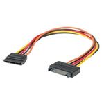 Roline 300mm Female 15-Pin SATA SATA Cable