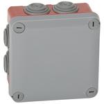 Legrand Polypropylene Adaptable Box, 7 Knockouts 121mm x 54 mm x 121mm