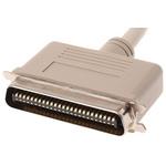 2m Male SCSI I to Male SCSI II SCSI Cable Assembly, Clip Fastener