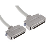 1m Male SCSI III to Male SCSI III SCSI Cable Assembly, Clip Fastener