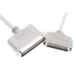 3m Male SCSI III to Male SCSI I SCSI Cable Assembly, Clip Fastener