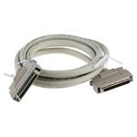2m Male SCSI III to Female SCSI III SCSI Cable Assembly, Clip Fastener