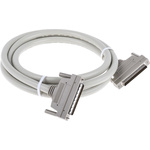 2m Male SCSI III to Male SCSI III SCSI Cable Assembly, Thumbscrew Fastener