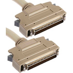 2m Male SCSI III to Male SCSI III SCSI Cable Assembly, Clip Fastener