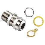 Kopex-EX Brass Cable Gland Kit, M20 Thread Size, 10 → 16mm Cable Diameter