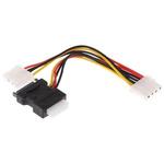 Roline 200mm Female 4P SATA SATA Cable