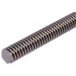 RS PRO Lead Screw, 16mm Shaft Diam. , 1000mm Shaft Length