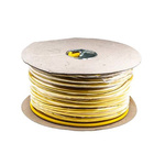 RS PRO Arctic Grade Electrical Wiring Cable, 3 Core, Yellow, 100m, 1.5 mm² CSA