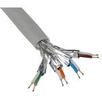 RS PRO Grey LSZH Cat7 Cable S/FTP, 100m Unterminated/Unterminated