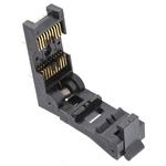 3M 1.27mm Pitch 20 Way Through Hole SOIC Test Sockets