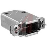 connector accessory,d-sub,45 degree exit metalized plastic hood,std15/hd26 cont
