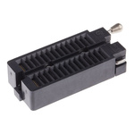 Aries Electronics 2.54mm Pitch 28 Way Through Hole DIP Test Sockets