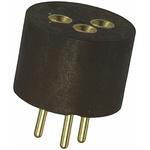 TE Connectivity 3 Way Transistor Socket