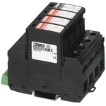 3 Phase Industrial Surge Protector, 50kA, 250 V ac, DIN Rail Mount