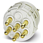 Male Connector Insert 12 Way for use with Circular Connector