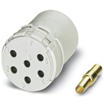 Female Connector Insert 12 Way for use with Circular Connector