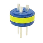 Male Connector Insert size 22 3 Way for use with 97 Series Standard Cylindrical Connectors