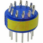 Male Connector Insert size 24 12 Way for use with 97 Series Standard Cylindrical Connectors