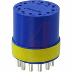 Female Connector Insert size 24 12 Way for use with 97 Series Standard Cylindrical Connectors