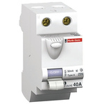 Merlin Gerin 2 Pole Type A Residual Current Circuit Breaker, 40A ID'clic, 30mA